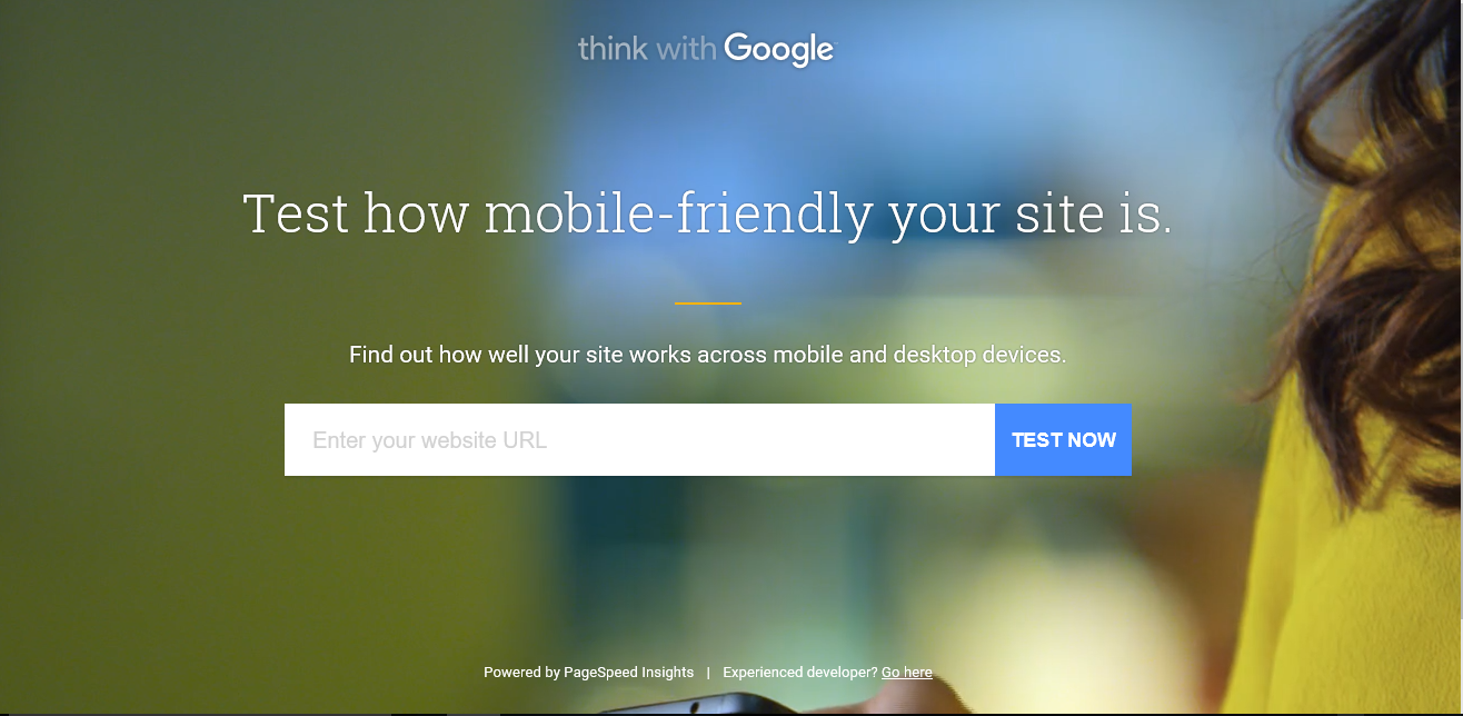 Mobile Friendly Website - ThinkWithGoogle
